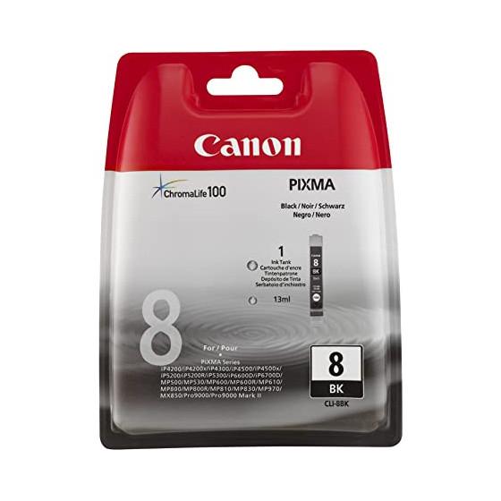 Canon - CLI 8BK - Cartouche...