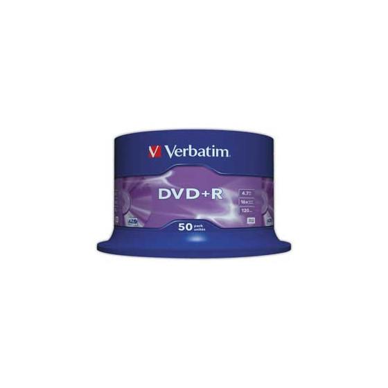 DVD+R 4.7G (pack de 50) -...